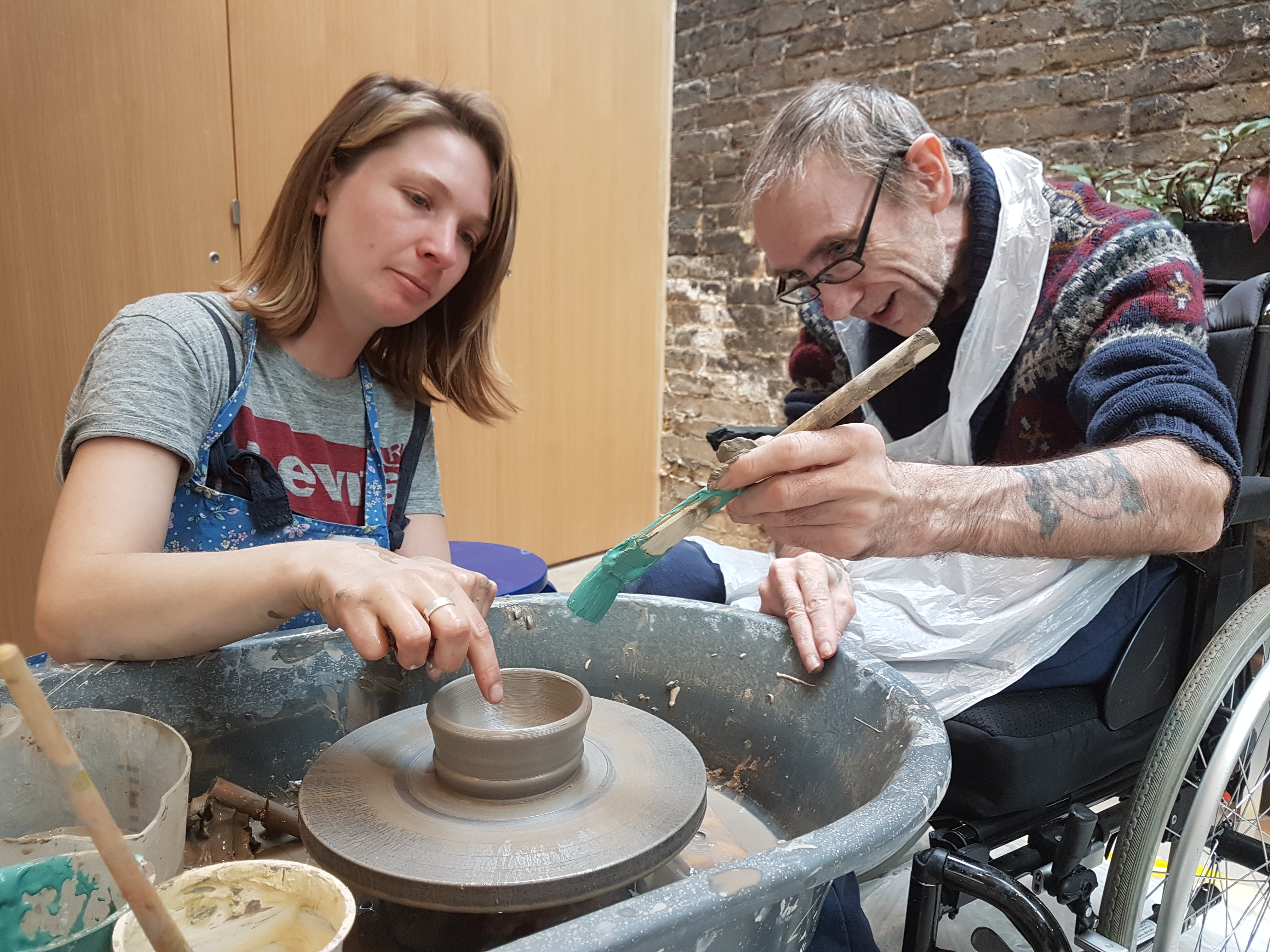 Clay Workshops at the Garden Museum