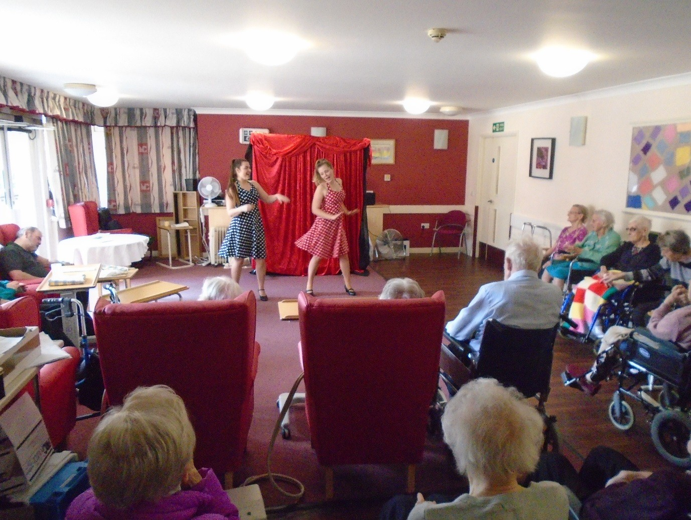 Residents Reminisce the 1950s