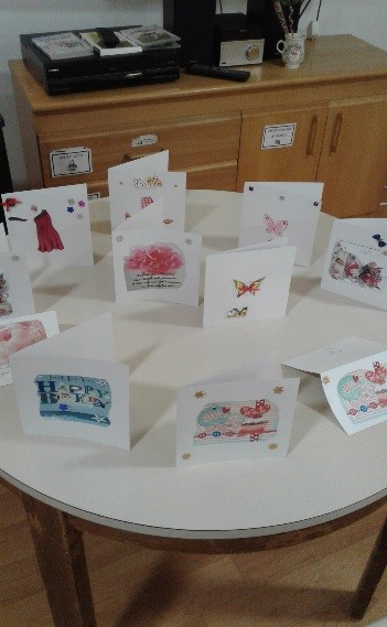 Creative Card Making at Willett House