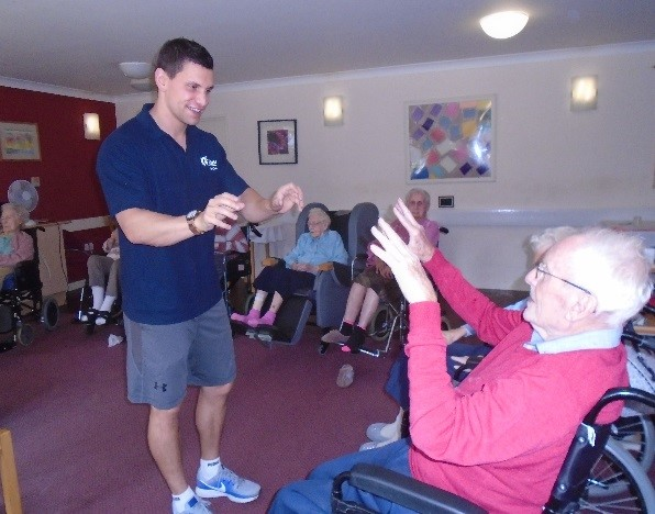 Chair Based Exercise Session at Elmwood