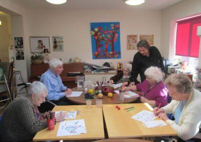 raphaels watercolour class at gh 004